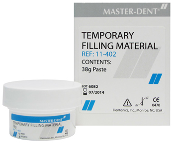 Temporary Filling Material (Saliva Cure)